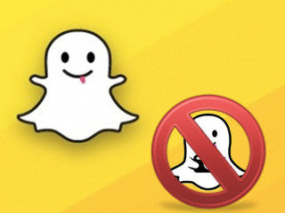 excluir conta snapchat