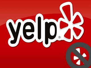 Excluir uma conta do Yelp