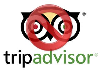 Excluir uma conta do TripAdvisor