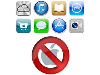 Excluir uma conta do Apple