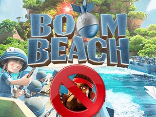 Excluir uma conta do Boom Beach