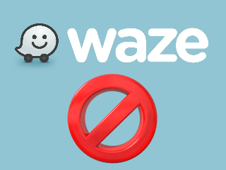 excluir conta waze