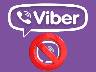 excluir conta viber