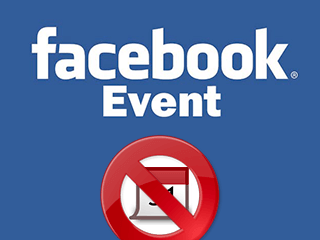 como excluir um evento facebook