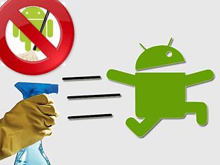 como limpar cache de Android